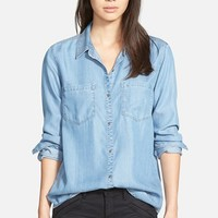 Women's Hinge Chambray Button Back Shirt,