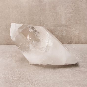 Large Clear Quartz Crystal Point - One of a Kind