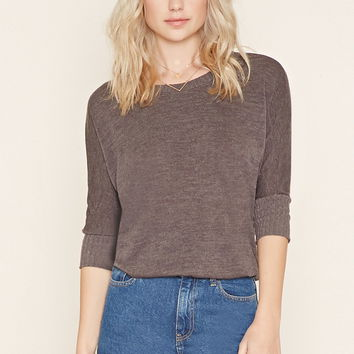 Textured Dolman Sweater | Forever 21 - 2000204866
