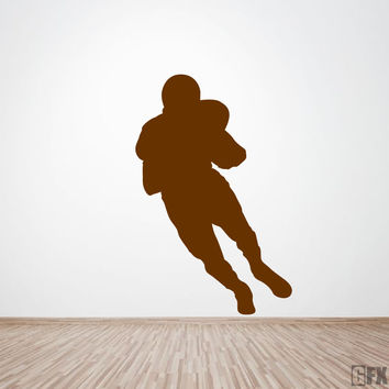 NFL Football Player Wall Decal
