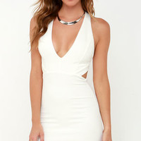 Like This and Like That Ivory Bodycon Dress