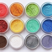 Mineral Eye Shadow Samples/Shimmer Shadows