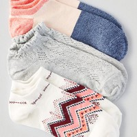 AEO Women's Shortie Socks 3-pack (Pink)