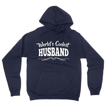 World's coolest husband birthday anniversary gift ideas for him wedding gift couple just married hoodie