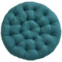 Papasan Cushion - Plush Teal$70.00