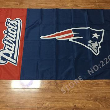 3ftx5ft New England Patriots flag