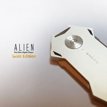 Shozy Alien Digital Audio Player Gold Edition