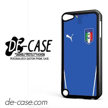 Italy Soccer Jersey For Ipod 5 Ipod Touch 5 Case Phone Case Gift Present YO