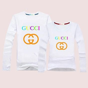 GUCCI Momen Men Casual Long Sleeve Top Sweater Pullover