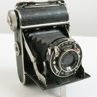 Balda Baldax 120mm Folding Film Camera w/  Meyer Gorlitz Trioplan 4.5 75mm Lens