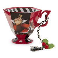 Disney Alice in Wonderland Tea Cup Ornament - The Queen of Hearts | Disney Store