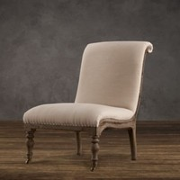 Deconstructed French Slipper Chair |  | Restoration Hardware