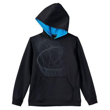 CREY7GX Tek Gear Graphic Performance Fleece Hoodie - Boys 8-20 Size