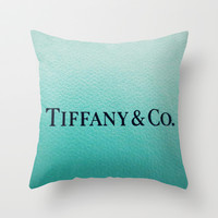 Tiff Any Throw Pillow by Christine Leanne