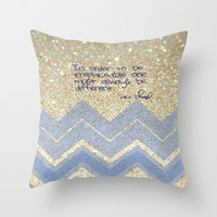 Irreplaceable Throw Pillow by Burlap and Bourbon
