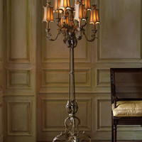 John-Richard Collection Venetian-Style Floor Lamp