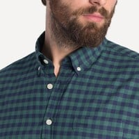 Hudson Gingham Shirt in Pine