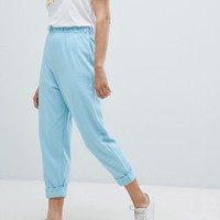 ASOS 80s Jogger with Roller Hem at asos.com