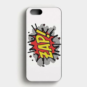 Zap Tattoo iPhone SE Case