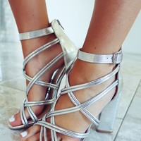 Elegance Is Everything  Heels: Silver