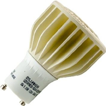 SYLVANIA 78744 - 10W PAR20 LED GU24 BASE - 550 LUMENS, FLOOD, BRIGHT WHITE, HIGH CRI, DIMMABLE