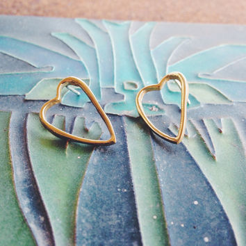 The Open Your Heart Studs