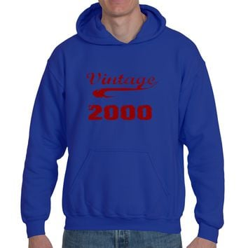 Vintage 2000 | Heavy Blend™ Fleece Hoodie | Underground Statements