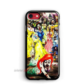Zombie iPhone Cases Princess Disney Samsung Galaxy Phone Case Cartoon iPod cover