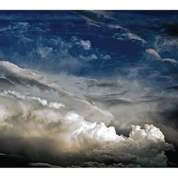 Ad Publishing Clouds Peel and Stick Mouse Pad