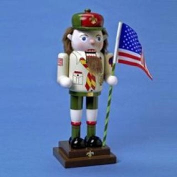 Christmas Nutcracker - Boy Scout