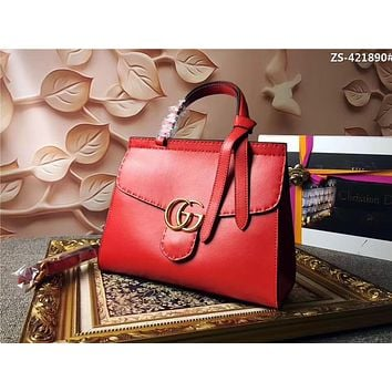 GUCCI GG MARMONT LEATHER HANDBAG SHOULDER BA