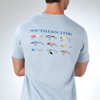 Classic Lures III | Short Sleeve Tee | Southern Mens Shirts | Southern Tide