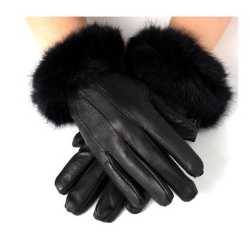 Alpine Swiss Women's Dressy Gloves Genuine Leather Thermal Lining