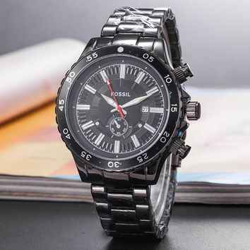Fossil  Men Fashion Quartz Watches Wrist Watch