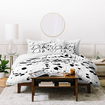 Natalie Baca Paint Play Three Duvet Cover