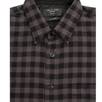 Rag & Bone Asphalt Placket Shirt
