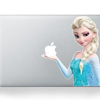 Frozen Disney-----Macbook Decal Macbook Sticker Mac Decal Mac Sticker  Decal for Apple Laptop Macbook Pro / Macbook Air / iPad/MINI