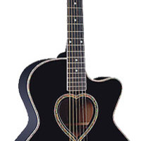 Jay Turser  J J Heart Acoustic Guitar - Jay Turser -  Retail Up! Music demo