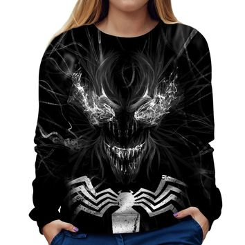 Venom Womens Sweatshirt
