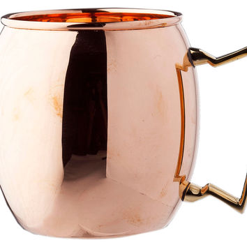 Solid Copper Moscow Mule, 16 Oz, Moscow Mule Mugs