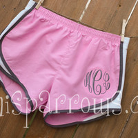 Monogrammed Running Shorts - Ladies and Kids Sizes