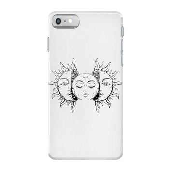 moon and sun iPhone 7 Case