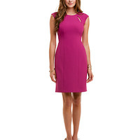 Some of you have to get in on this: Kay Unger Fuchsia Slit Detail Dress