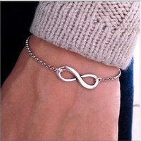 Infinity Bracelet - 4 Colors to Choose From