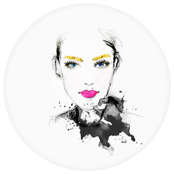 Sara Eshak's The Golden Girl Circle Decal