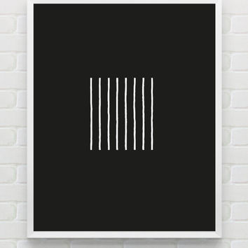 Printable geometric wall art, abstract art, contemporary art decor, scandinavian black and white wall art, minimalist print digital wall art