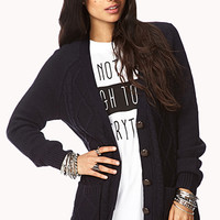 FOREVER 21 Diamond Patterned Cardigan