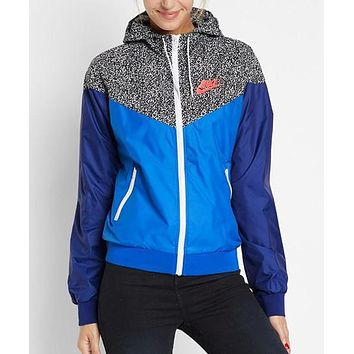 nike hooded zipper cardigan sweatshirt jacket coat windbreaker sportswear-18