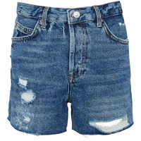 PETITE ASHLEY Rip Shorts - Clothing