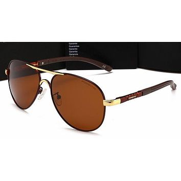 Gucci Personality Women Casual Sun Shades Eyeglasses Glasses Sunglasses Brown G